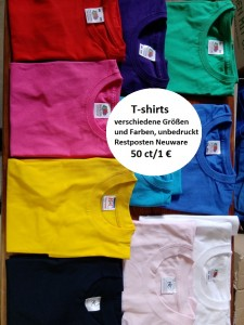 unbedruckte T-shirts